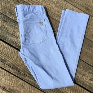 Tory Burch Super Skinny Jeans in Lavender